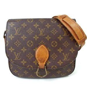 Auth Louis Vuitton Saint Cloud GM Crossbody Bag